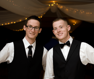 Wedding DJs Matt and Corey
